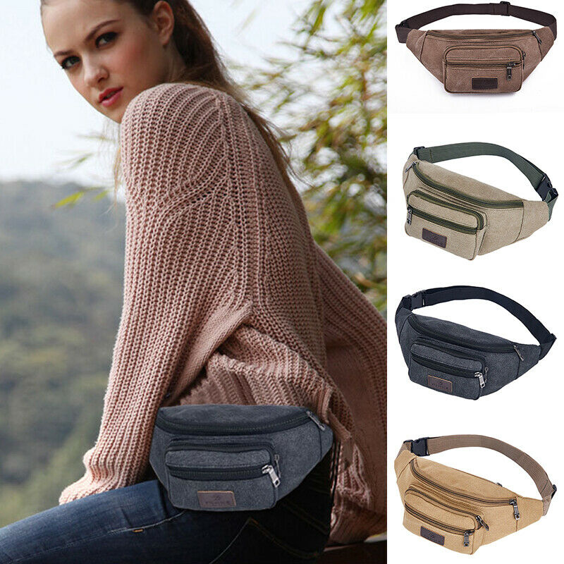 Bum Bag Fanny Pack Pouch Travel Festival Waist Pack Belt Leather Holiday Money Wallet  /BY