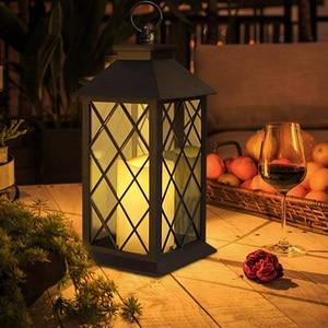 Солнечный, садовый, наружный фонарь s Солнечный фонарь наружный садовый подвесной фонарь светодиодный мерцающий беспламенный светильник