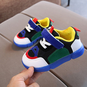 Toddler Baby Girs Led Luminous Light Led Shoes Outdoor Boys Soft Sneakers Outside Running Night Cool Boy Girl's Sport Sandals 1
