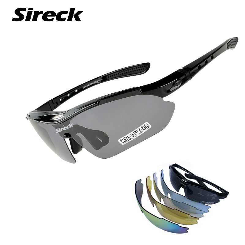 Sireck Fishing Glasses UV400 Polarized Sport Glasses Outdoor Safety Hiking Bicycle Cycling Glasses Sunglasses Fishing Eyewear