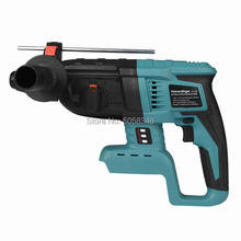 Hammer-Drill Electric-Hammer Cordless Rotary Battery--Case Rechargeable 18V Without