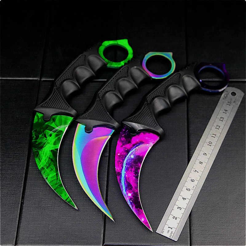 Coltello da allenamento CS star butterfly coltello da artiglio CS star coltello pieghevole coltello pieghevole coltello da tasca vendita all'ingrosso in fabbrica