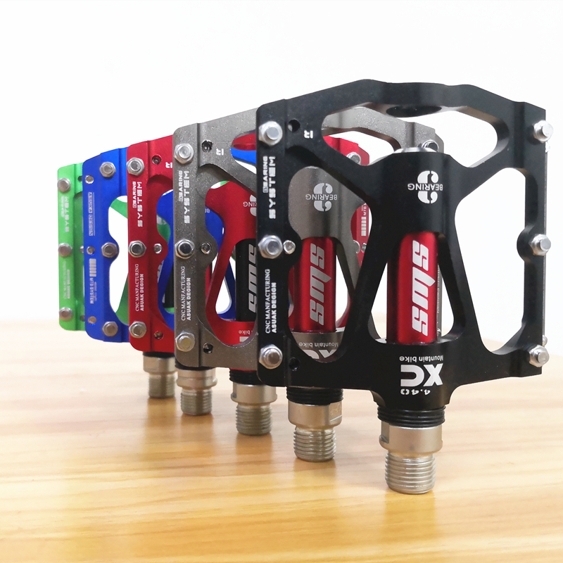 Aluminum Bearings Pedals flat Mountain Road XC Bike Bicycle Pedals 9//16inch UK