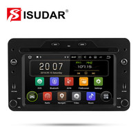 Isudar 1 Din Auto Radio Android 9 For Alfa/Romeo/Spider/Brera/159 Sportwagon RAM 2G Car Multimedia Video DVD Player GPS USB DVR