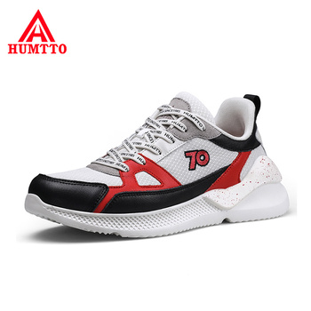 Light Breathable Lace-up Shoes Men Outdoor Casual Flat Sneakers Soft Non-slip Wear Resistant Fashion Man Shoes