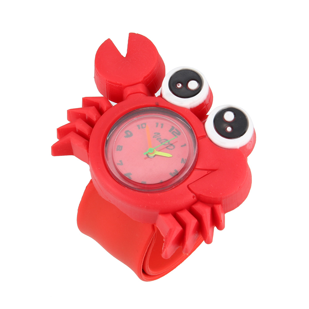 New Cute Animal Cartoon Silicone Band Bracelet Wristband Watch For Babies Kids AIC88