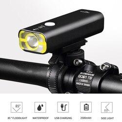 Reflektor rowerowy górski reflektor rowerowy kierownica zamontowany jasny wodoodporny noc latarka rowerowa latarka V9C-400