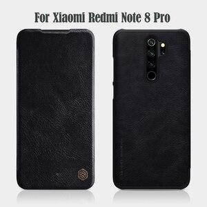 Image 2 - Xiaomi Redmi Note 9S 9 Pro Max Note 8 Pro 플립 케이스 Nillkin Qin 가죽 플립 커버 카드 포켓 케이스 Note9 Pro Phone Bags