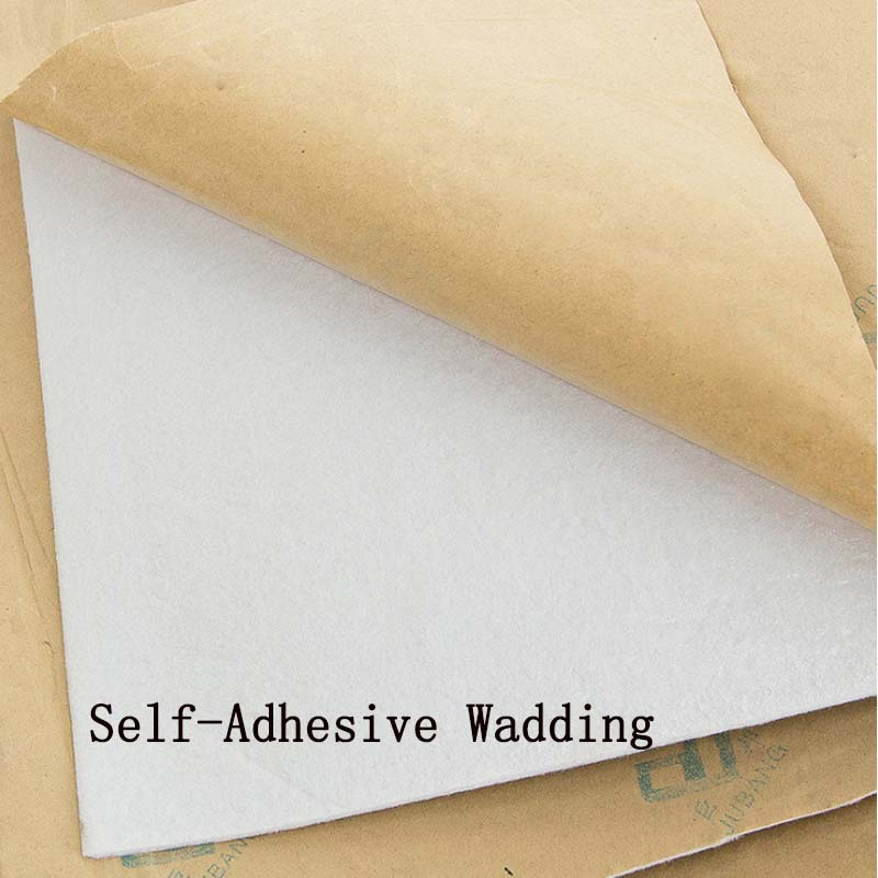 Self Adhesive Sticker Cotton Polyester Wadding Batting Interlining Filler Purse Patchwork Quilting Craft DIY Projects Lining