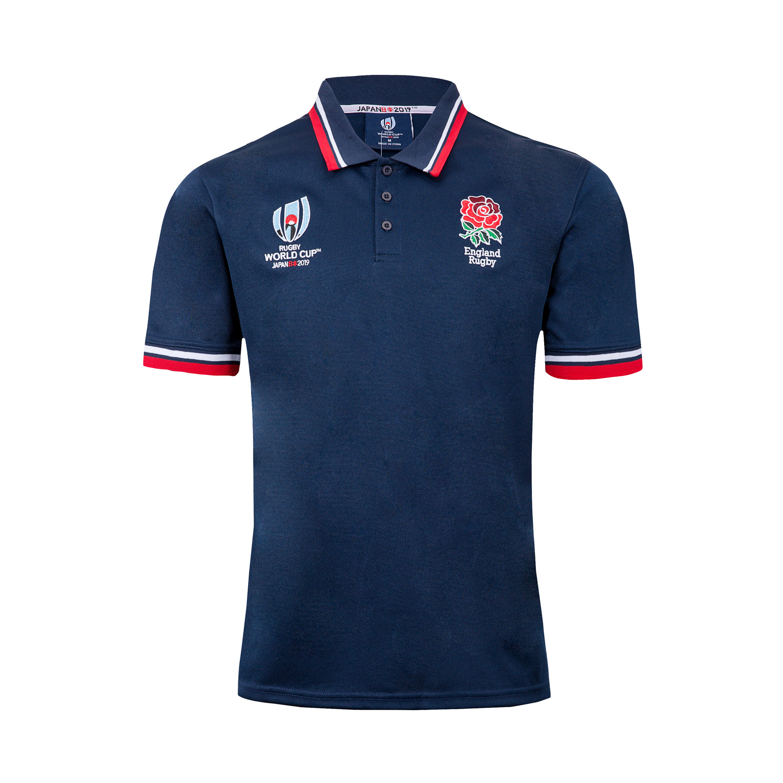 Olive Jersey England Polo 2019 Rugby World Cup England Polo T-Shirt