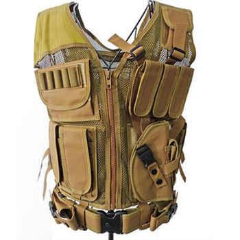 Vêtements militaires gilet tactique Chemise Militaire Uniforme Militaire armée Combat Chemise Colete Tatico chasse gilet multifonctionnel