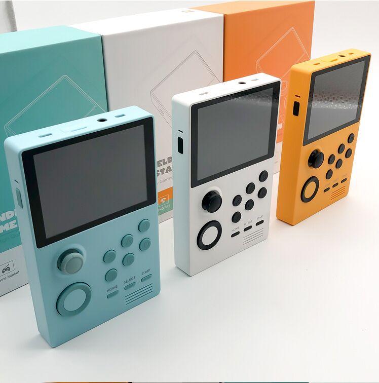 POWKIDDY retro moonlight treasure box nostalgic handheld youth version IPS screen built-in 3000 games 30 3D games WiFi download