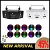 9 눈 레이저 무대 프로젝터 RGB 디스코 Dj 램프 스트로브/효과 램프/조명 디스코 파티/크리스마스/바/클럽 컨트롤러