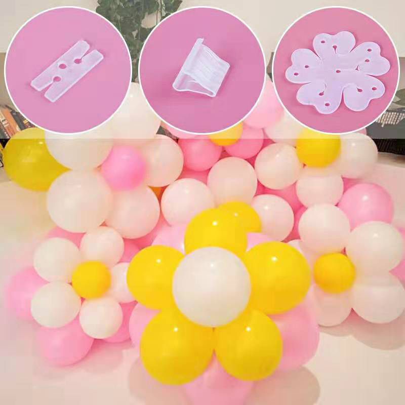 Balloon Chain Clip Glue DIY Modeling Tool Plastic Decoration Wedding Party Birthday Backdrop Decor Ballons Accessories Supplies in Ballons Accessories from Home Garden