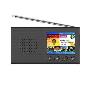 Image 2 - Dab receptor portátil rádio fm bluetooth 4.2 leitor de música 3.5mm saída estéreo