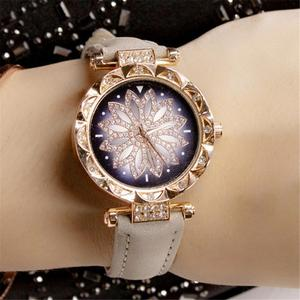 women Leather Casual Watch The