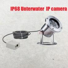 304 נירוסטה 4mp IP68 מתחת למים POE IP מצלמה מתחת למים מצלמה קו 5M 1M פיצוץ הוכחה