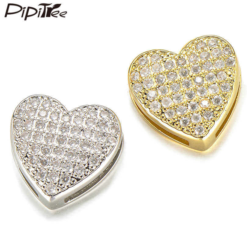 Micro Pave CZ Bangle Gold Plated Rhodium Finish Italian Wire Mesh Bracelet with 3 Cubic Zirconia Beads