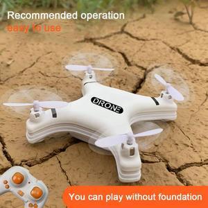 Складная рукоятка RC Квадрокоптер Дрон мини Дрон с/без HD камеры режим удержания высоты открытый запуск самолета Дети подарок игрушка