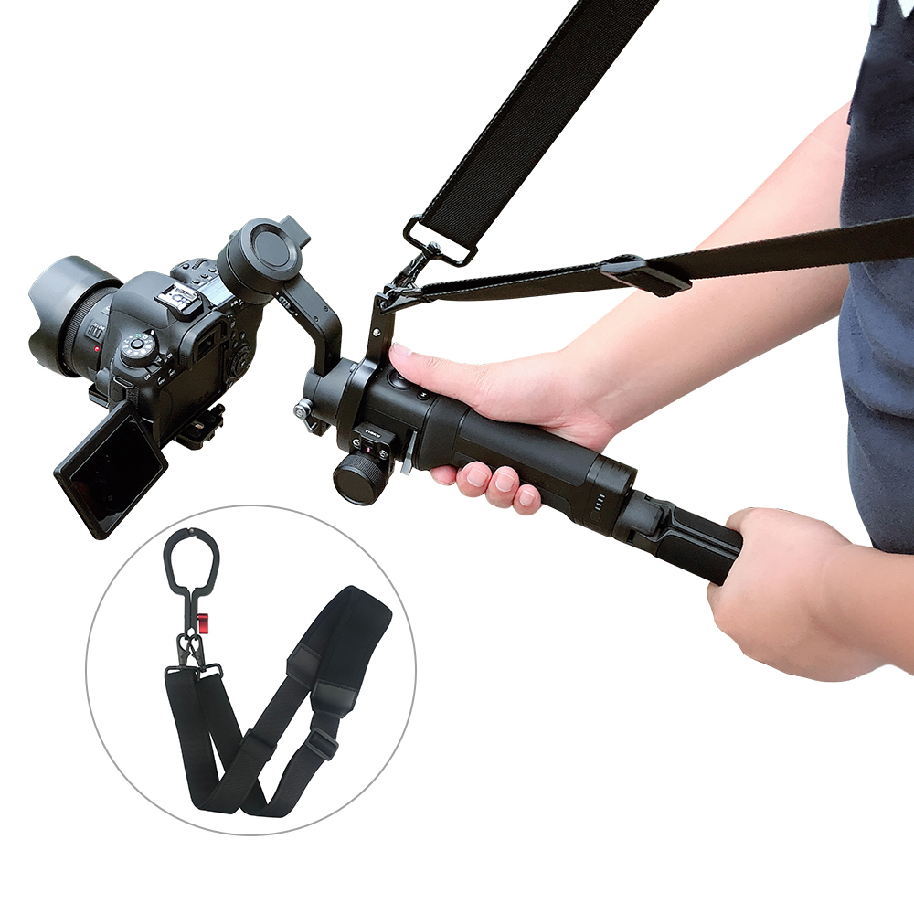 DJI RONIN-SC Micro Single Stabilizer Lanyard Shoulder Strap Lanyard Buckle Cover with Neck/Wrist Strap Lanyard for DJI RONIN-SC