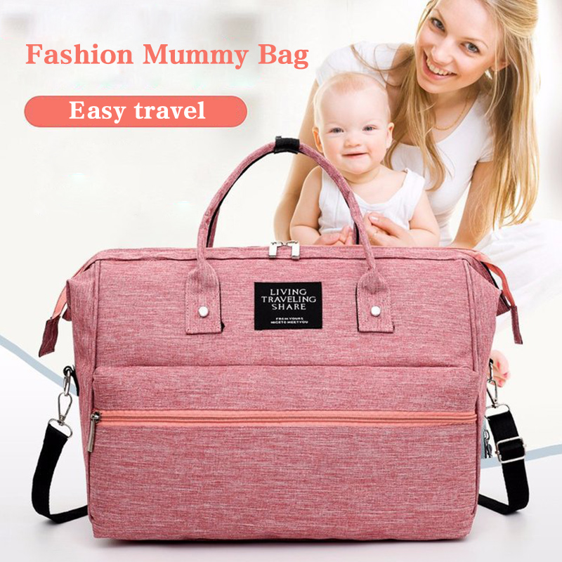 Diaper Bags Portable Multifunctional Mother Bag Mother And Baby Bag Fashion Shoulder Slung Out Portable Bag For Mother