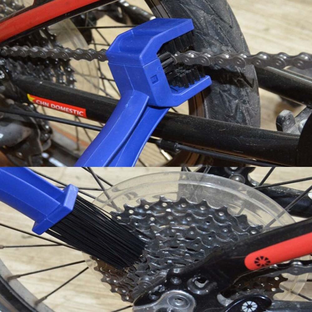 Купить мотоциклетная велосипедная щетка для чистки цепи шестерня гранж
