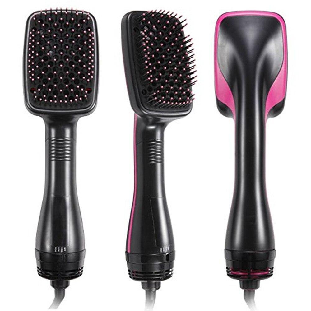 Hot Air Brush One-Step Hair Dryer And Volumizer Professional Blower Brush Technical Air Styler Electric Hair Straight Brush