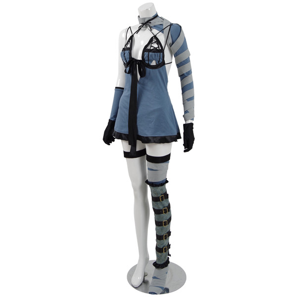 Game NieR:Automata cosplay costume <font><b>2b</b></font> 9s <font><b>Sexy</b></font> Battle Suit A image