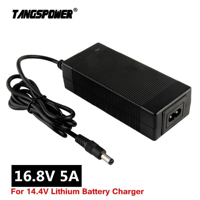 16,8 V 5A литиевая батарея Зарядное устройство для 4S 14,4 V 14,8 V полимерная литиевая батарея пакет Зарядное устройство EU/US/UK/AU разъем постоянного т...