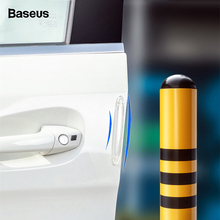 Baseus 4Pcs Car Door Protector Guard Styling Airbag Buffer Scratch Bumper Stickers Auto Edge Protection