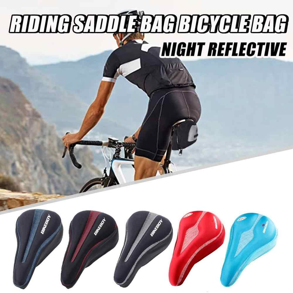 Bike Seat Cover Gel Comfort Cushion Cover Soft Padded Mountain Bicycle Saddle