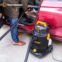 Vacmaster limpiador multifuncional aspiradora 4 en 1 Control Remoto champú aspiradora para alfombras 1300W 30L cubo vacío limpiador