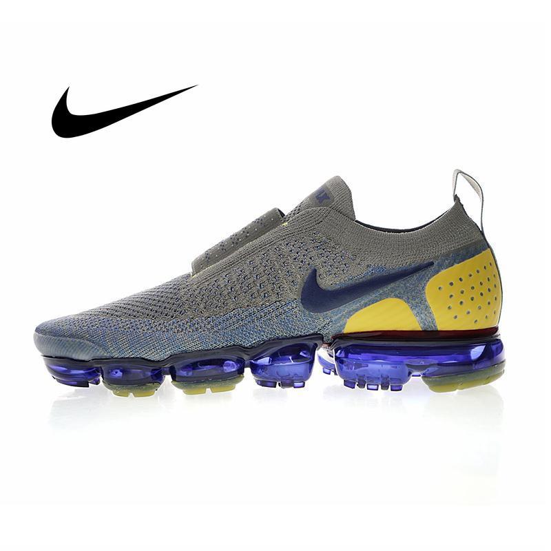 Original Authentic NIKE AIR VAPORMAX FK MOC 2.0 Men's Running Shoes Classic Sneakers Comfortable Breathable Light AH7006-300