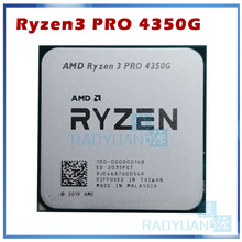 CPU Processor 4350G R3 Pro Quad-Core Amd Ryzen AM4 Ghz 3-Pro 100-000000148-Socket Eight-Thread