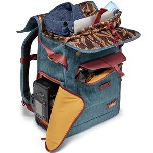 Image 3 - ナショナルジオグラフィック ng AU5350 革カメラバッグバックパック大容量のノートパソコン用キャリーバッグデジタルビデオカメラ旅行バッグ