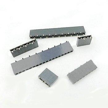 10 sztuk 2.54mm SMD PCB kobieta nagłówek plastikowa wysokość 8.5mm nagłówek pojedynczego rzędu SMT złącze 1x 2/3/4/5P 6P 7P 8P 9P 10P 20P ~ 40p