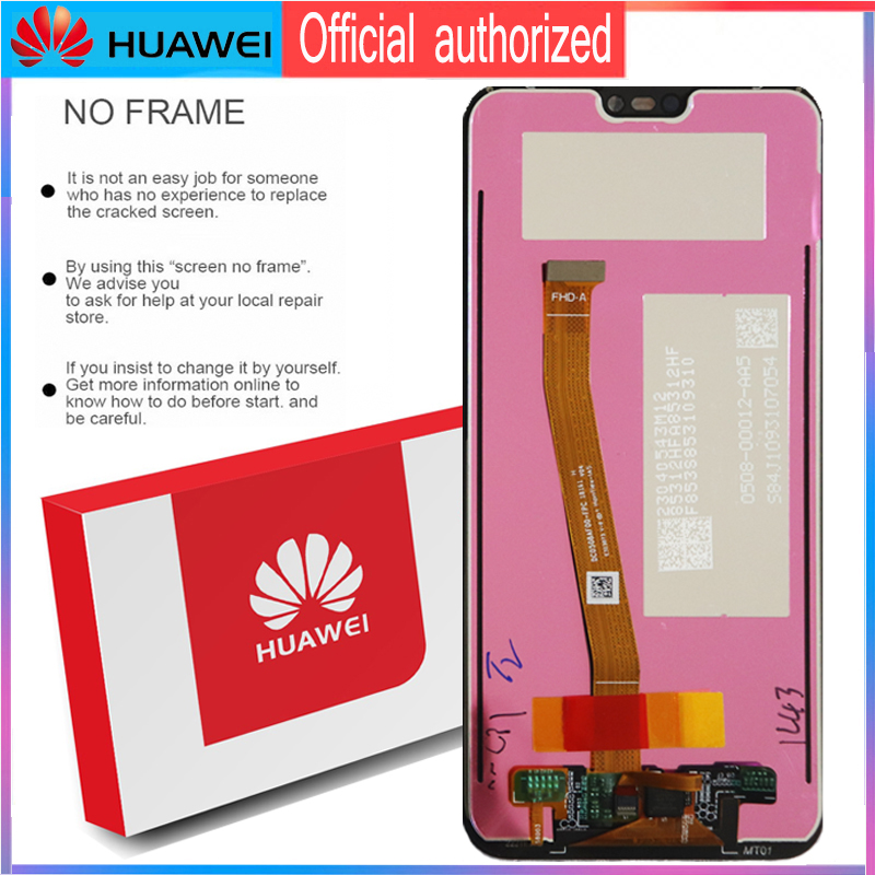 Image 5 - Original 5.84 LCD with Frame for Huawei P20 Lite Nova 3e LCD Display Touch Screen Digitizer Assembly ANE LX1 ANE LX3Mobile Phone LCD Screens   -