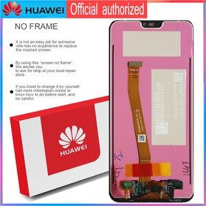 Image 5 - Orijinal 5.84 LCD ekran için çerçeve ile P20 Lite Nova 3e LCD ekran dokunmatik ekran Digitizer meclisi ANE LX1 ANE LX3