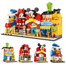 Toys For Children Street View Store Model Kit Compatible Legoing Diy Assembled Educational Building Blocks Brick Kids Gift O03 цена 2017