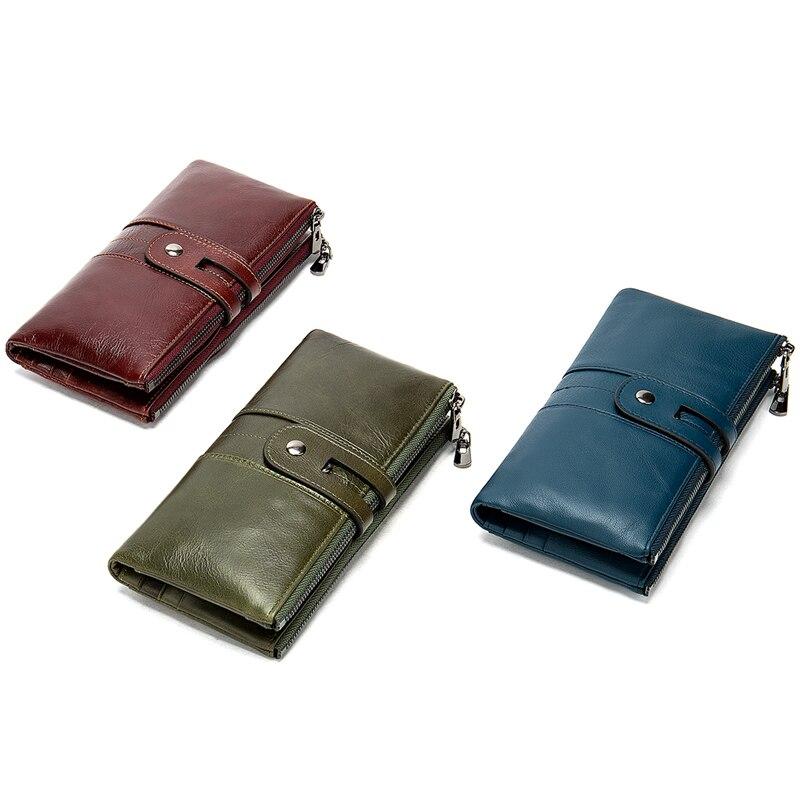 WESTAL women's wallet genuine leather purse/wallet for women/lady fashion woman's clutch bag women's purse long card holder 8560