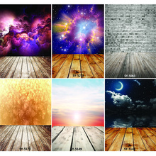 Vinyl Custom Photography Backdrops Prop Colorful Wooden Planks Theme Photo Studio Background CS20319-20 shengyongbao art cloth digital printed photography backdrops wood planks theme prop photo studio background jut 1631