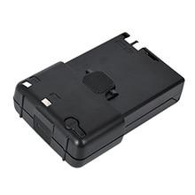 4 x aa caixa de bateria BT 32 para kenwood TH 22A/e TH 42A TH 79A/e rádio em dois sentidos preto