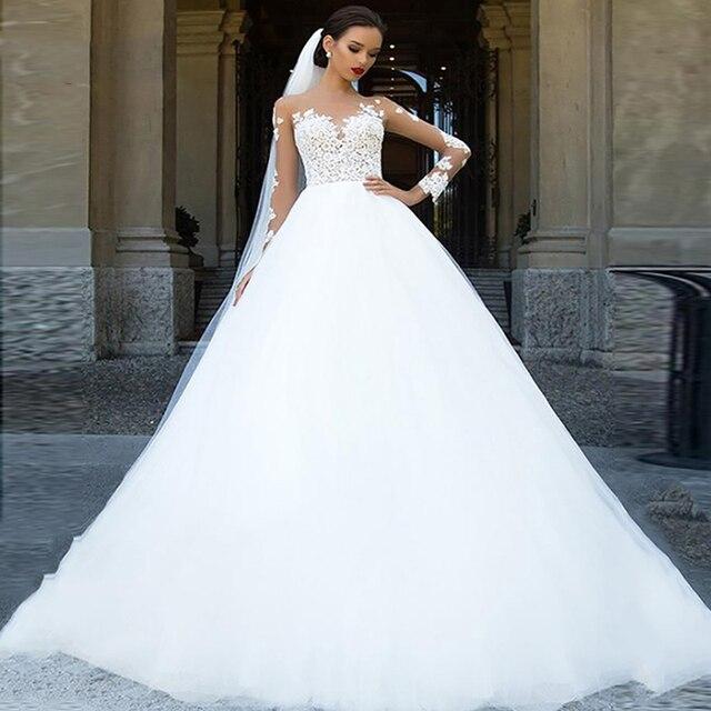 Long Sleeve Wedding Dress 1
