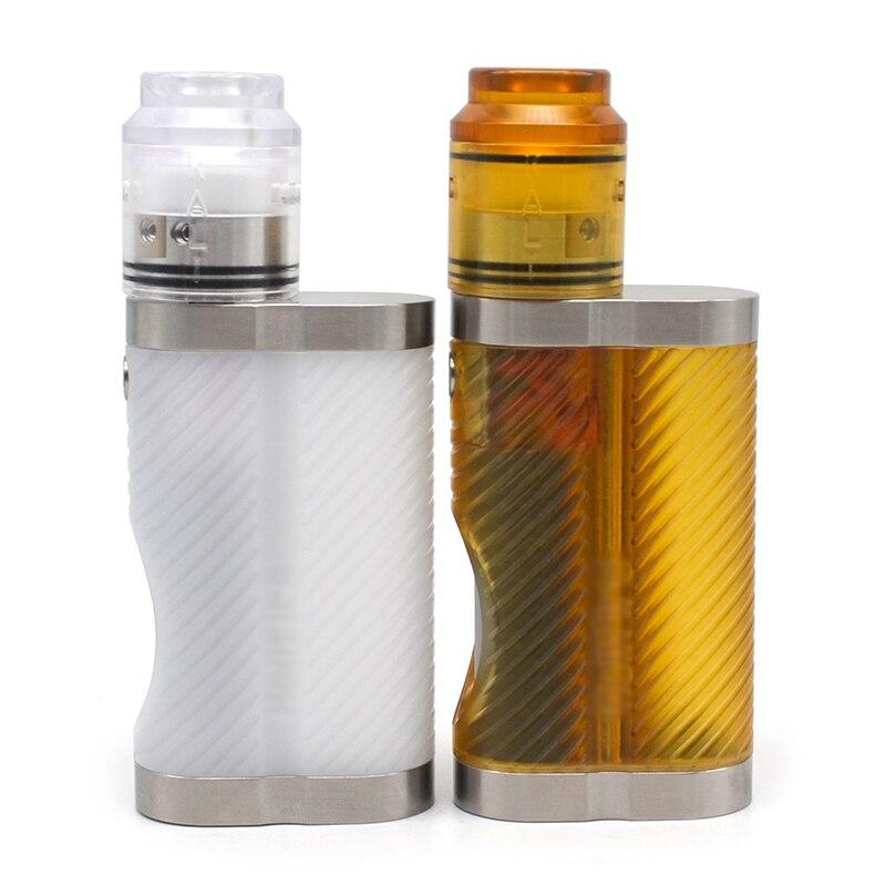 Boîte d'ulton mod Hellfire Cobra Style 18650 Semi-Squonk Mod pour Kali V2 style RDA/Dvarw rta cigarette électronique mod