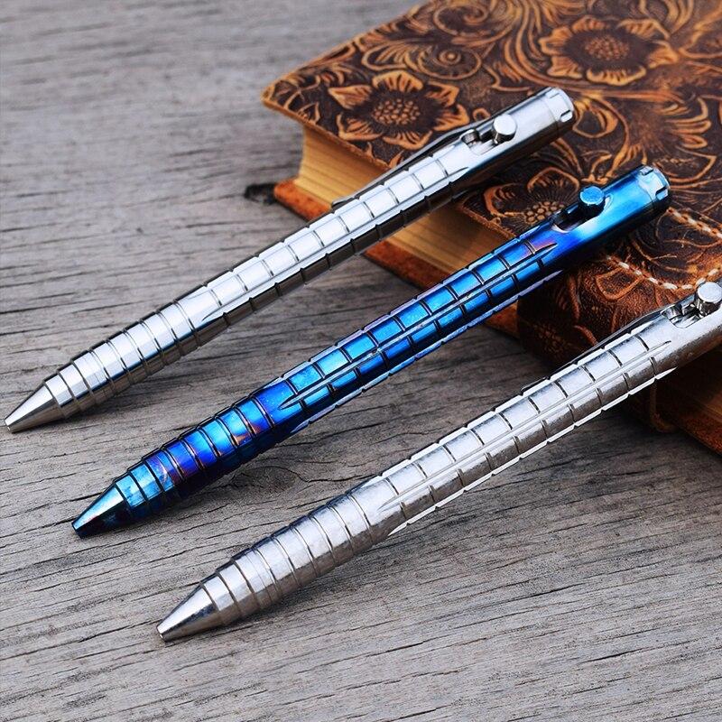 Image 3 - EDC チタン合金自己防衛サバイバル安全戦術的なペン鉛筆ライティング多機能タングステン鋼ヘッド EDC ツール -    グループ上の スポーツ