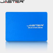 JASTER SSD 2 5 #8221 SATA3 HDD SSD 120gb ssd 240gb 480gb SSD 512GB wewnętrzny półprzewodnikowy dysk twardy dysk twardy do laptopa Desktop tanie tanio Sataiii Nowy AS SMI 500Mb s 2 5 Pulpit Serwer JS500 JS600 SMI 2258XT Phison Blue Black SATA II (32GB) 3 years