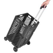 Складная ручная тележка для прокатки складная багажника покупок