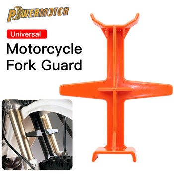 Motorcycle Plastic Fork Support Brace Guard Enduro Universal Brace Stand Protector For KTM SUZUKI KAWASAKI For Honda /Yamaha yamaha ws 865a 800 series tom stand for yess