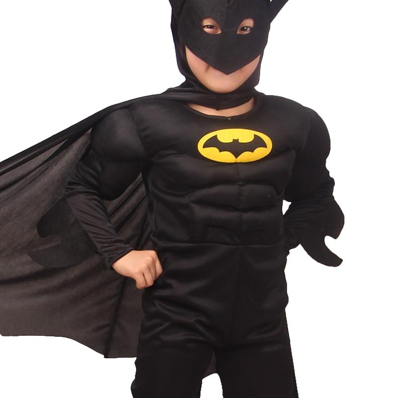 儿童-蝙蝠侠-肌肉-细节-D