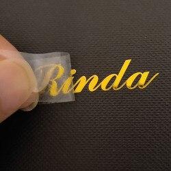Personalizzato 3d in metallo sticker FAI DA TE etichette Trasferimento logo decal Electroformed lettere Adesivo nichel adesivo Personalizzato tag a prova di Pioggia